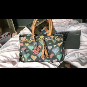 Dooney & Bourke matching purse and wallet